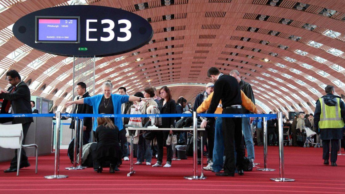 Airport Customs Screening